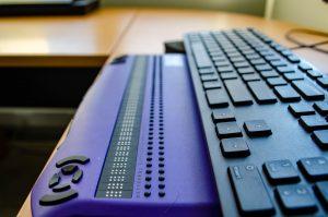 Πληκτρολόγιο Braille